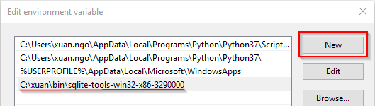 Install and setup SQLite in MS Windows | OpenWritings net